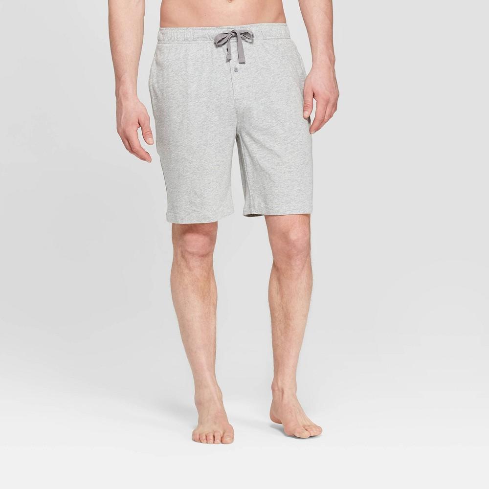 Men S 9 Knit Pajama Shorts Goodfellow Co 8482 Heather Gray S