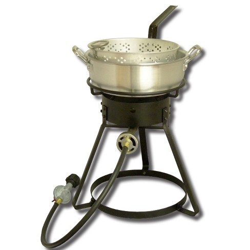 King Kooker #1642-16in Bolt Together Cooker with Almnm Pan - image 1 of 1