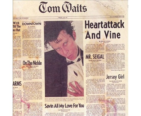 Tom Waits - Heartattack And Vine (CD) - image 1 of 1