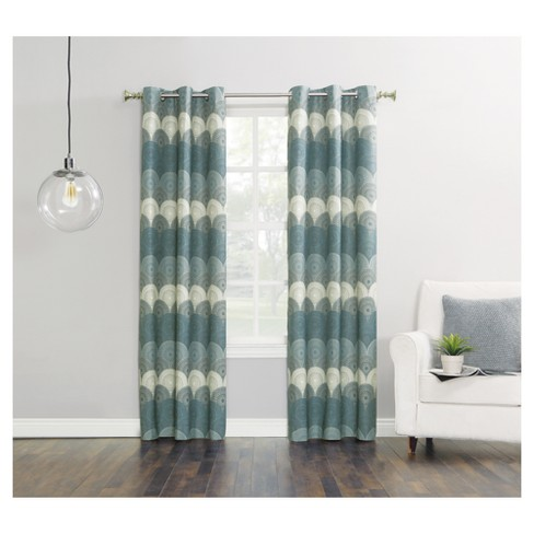 Malta Thermal Lined Room Darkening Curtain Panel - Sun Zero - image 1 of 3