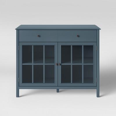 Windham 2 Door Accent Buffet Overcast Gray - Threshold™