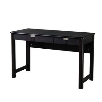 Modern Writing Desk with Storage Espresso Brown - Techni Mobili
