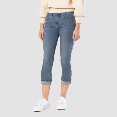 DENIZEN® from Levi's® Women's Mid-Rise Slim Capri Jeans