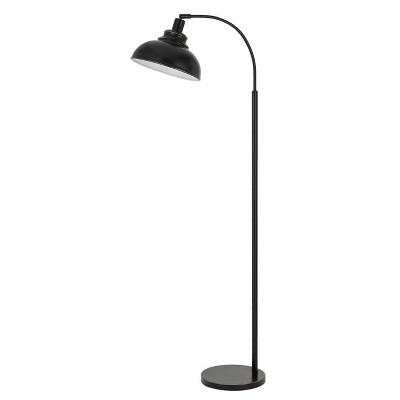 """61"""" Adjustable Height Metal Floor Lamp Dark Bronze - Cal Lighting"""