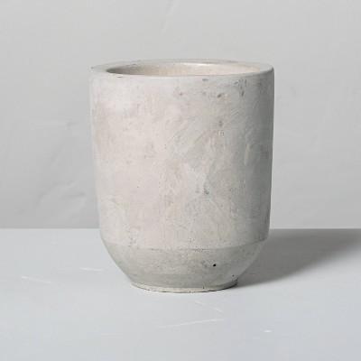 6.3oz Small Citronella Cement Candle - Hearth & Hand™ with Magnolia