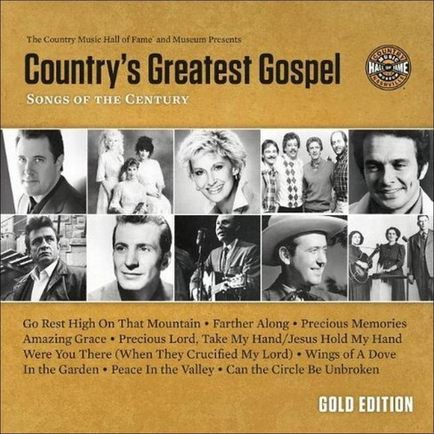 Various Artists - Country's Greatest Gospel Songs Of The Century: Gold  Edition (CD)