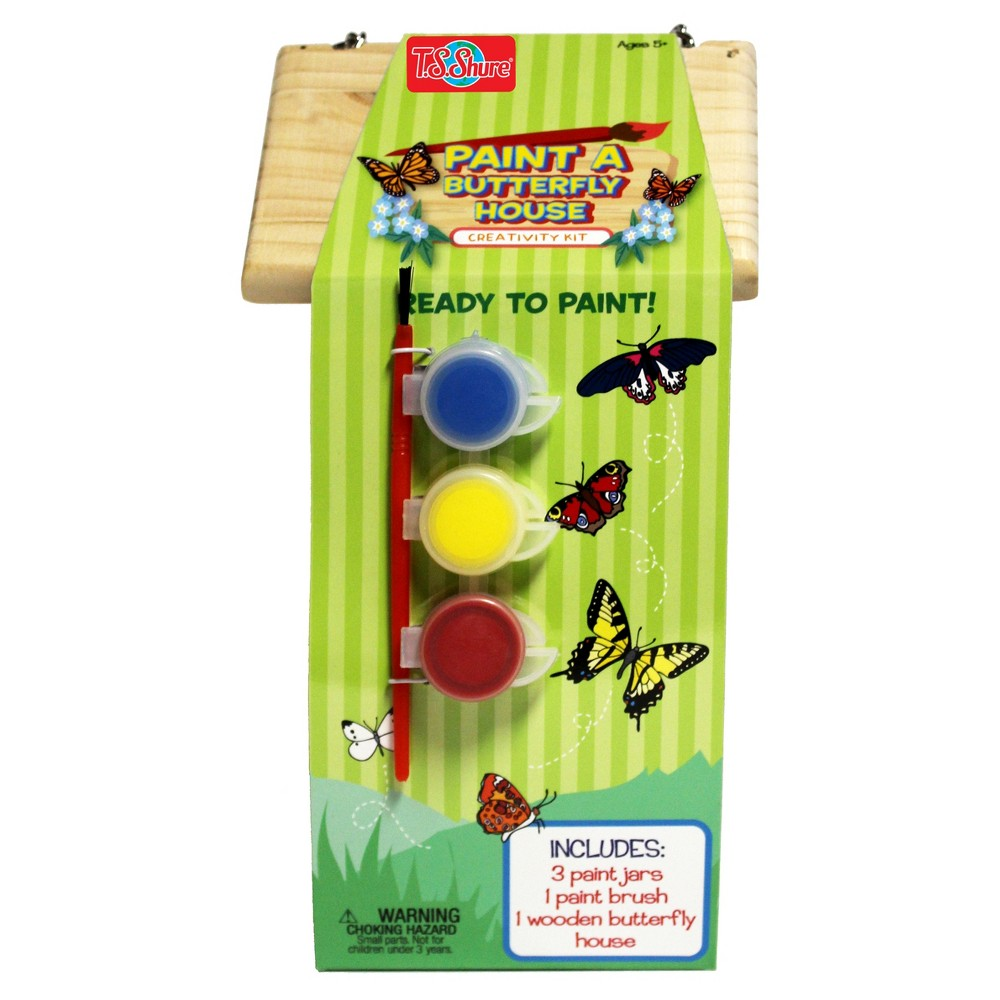 T.S. Shure - Wooden Paint A Butterfly House