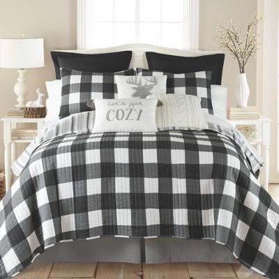 Camden Black Quilt and Pillow Sham Set - Levtex Home