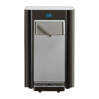 Brio Countertop Self Cleaning Bottleless Water Cooler Dispenser with 2 Stage Water Filter Included