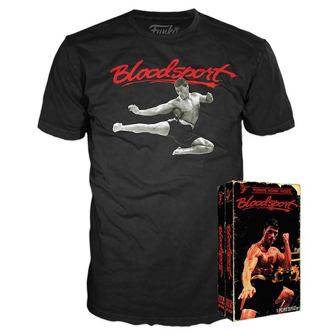 Funko VHS Packaged T-Shirt : Bloodsport - Black XL - image 1 of 1