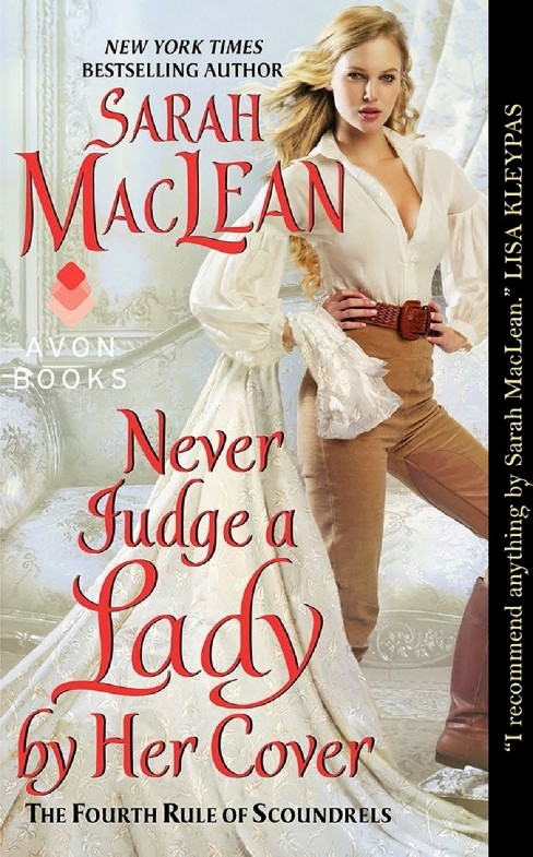 Never Judge a Lady by Her Cover ( Fourth Rules of Scoundrels) (Paperback) by Sarah Maclean - image 1 of 1