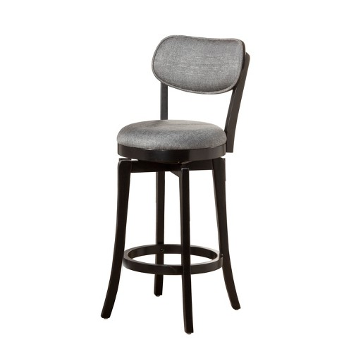 Stupendous 25 Sloan Swivel Counter Stool Black Gray Hillsdale Furniture Ibusinesslaw Wood Chair Design Ideas Ibusinesslaworg