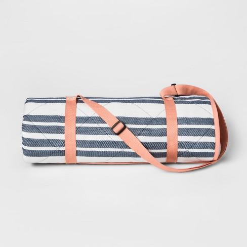 picnic blanket target Blue Stripe Picnic Blanket   Threshold™ : Target picnic blanket target