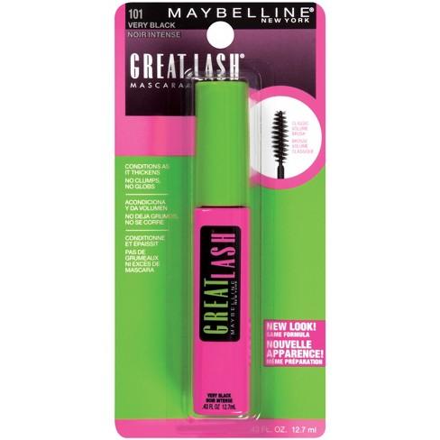 757a68d5925 Maybelline Great Lash Washable Mascara - 101 Very Black - 0.43 fl oz. Shop  all Maybelline