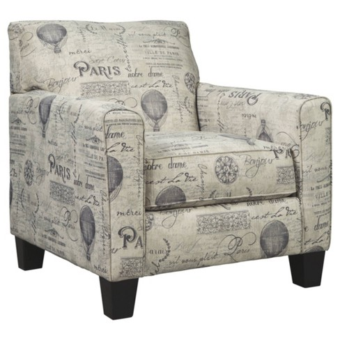 Nesso Accent Chair Gray/Cream - Signature Design by Ashley - image 1 of 1