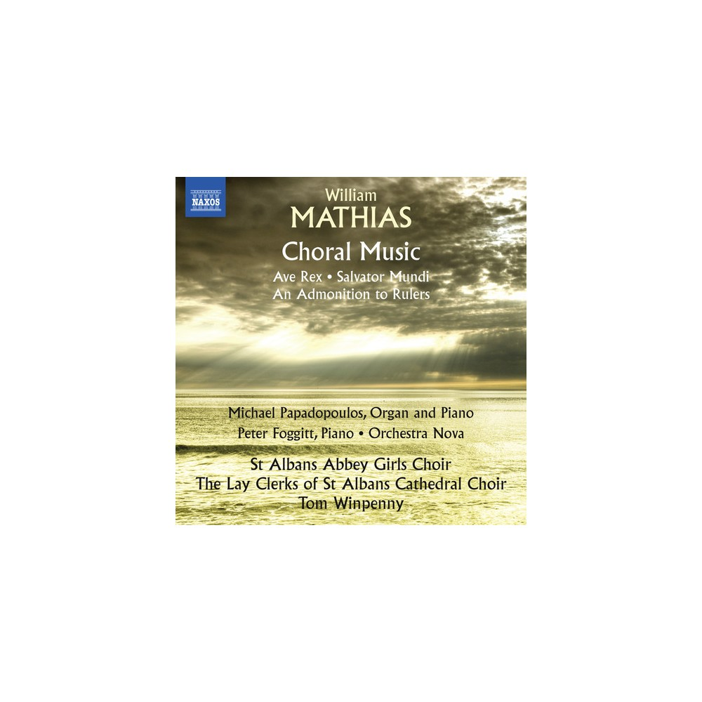 St. Albans Abbey Gir - Mathias:Choral Music (CD)