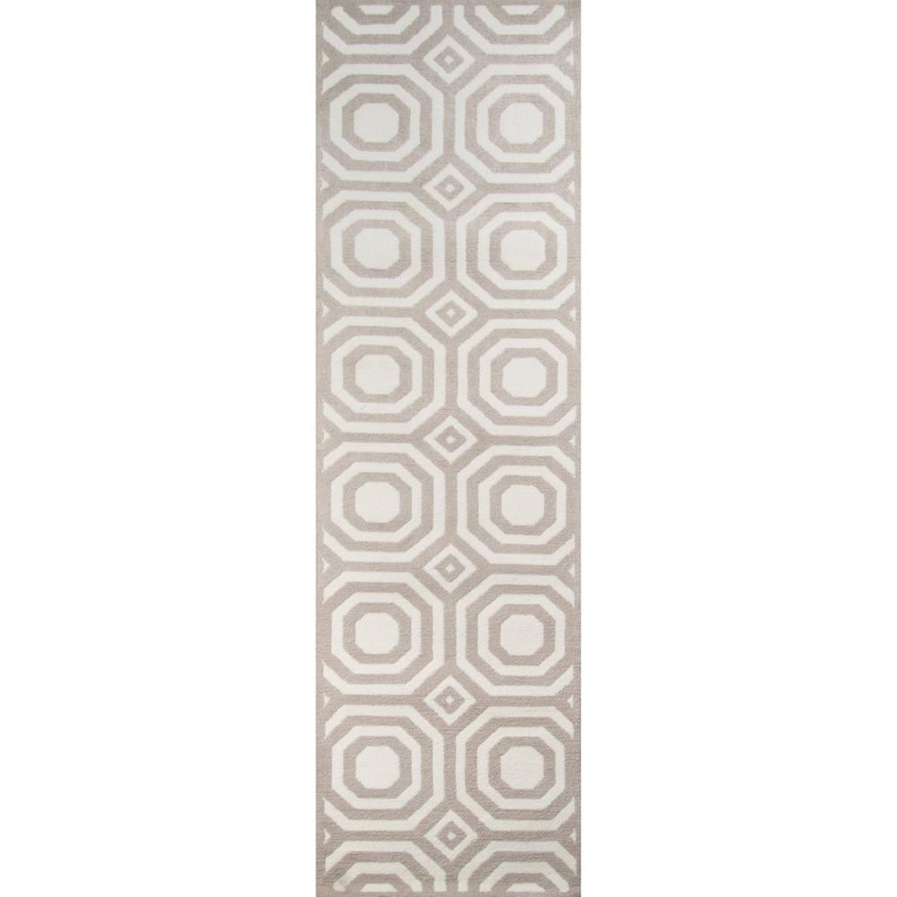 Octagon Rug - Gray - ( 2'3