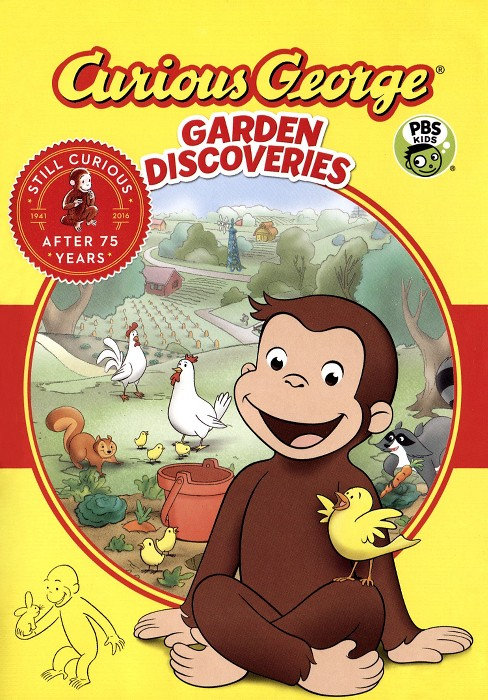 Curious George: Garden Discoveries Movies (DVD) - image 1 of 1