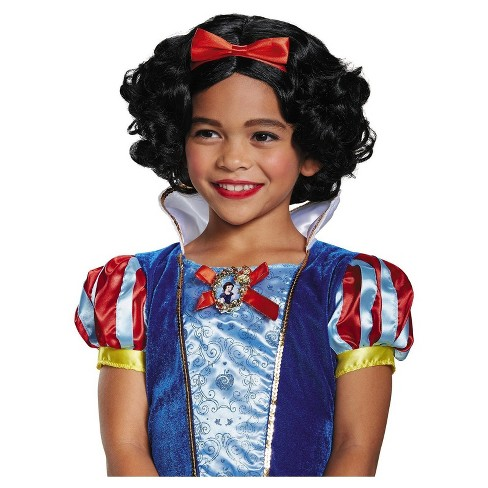 Kids  Disney Princess Snow White Costume Deluxe Wig   Target 02d6a1ce03a2