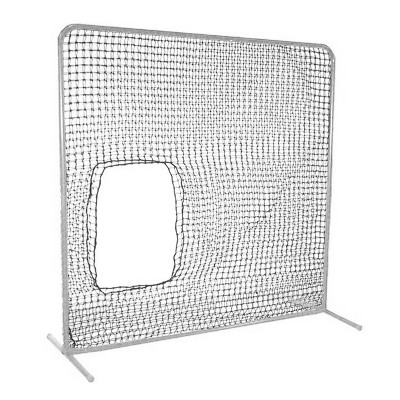 Cimarron Sports Replacement 7 x 7 Foot Underhand Softball Fast & Slow Pitch Protective Portable Pitching Screen Safety Netting, Net Only