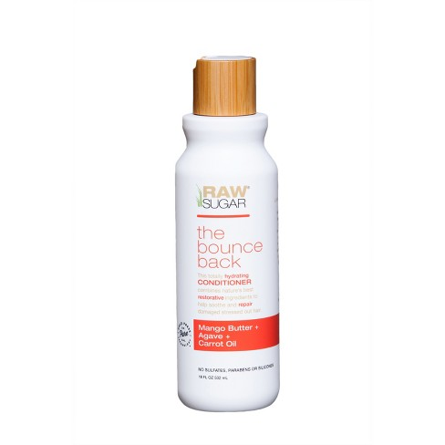 Raw Sugar The Bounce Back Mango Butter + Agave + Carrot Oil Conditioner - 18 fl oz - image 1 of 2