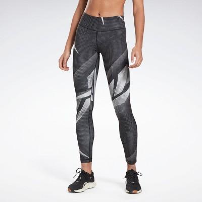 Reebok MYT Printed Leggings Womens Athletic Leggings