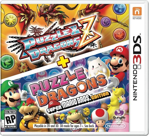 Puzzles & Dragons Z + Puzzle and Dragons Super Mario Edition Nintendo 3DS - image 1 of 11