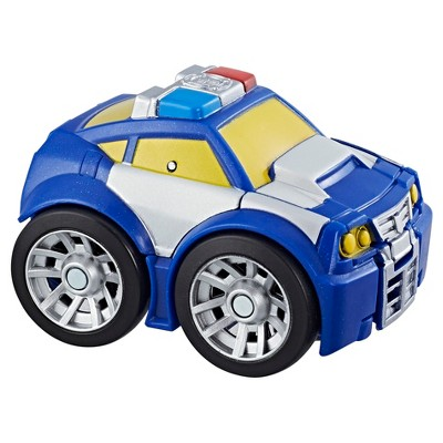 Transformers rescue bots playskool heroes chase the police bot