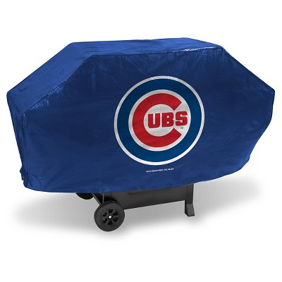 Rico Industries MLB Team Deluxe Grill Cover - Chicago Cubs