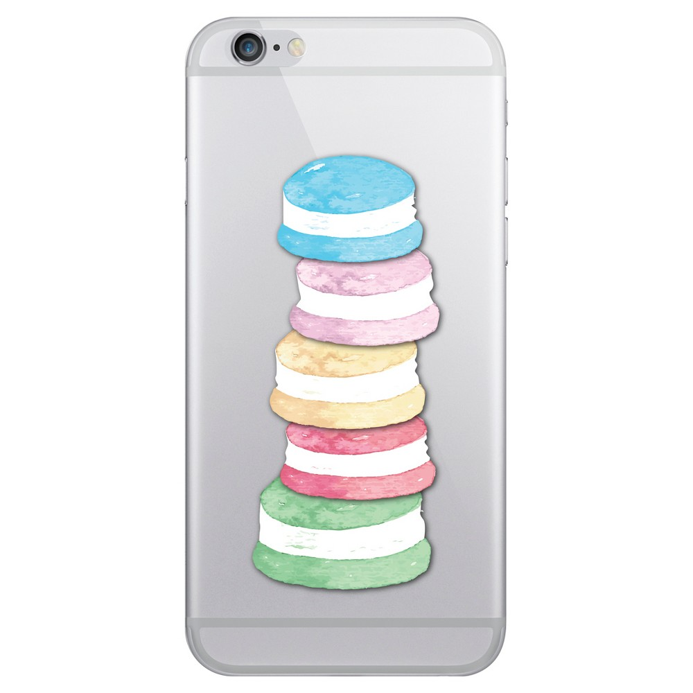 Apple iPhone 8/7/6s/6 Case Hybrid Macaron Stack Clear - Otm Essentials, Multi-Colored