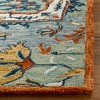 3'X5' Tufted Medallion Accent Rug Blue - Safavieh - image 3 of 4