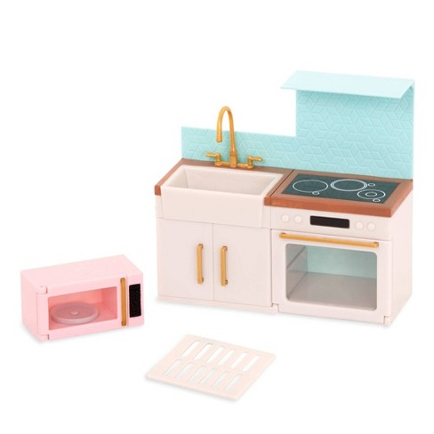 Lori Dollhouse Furniture For 6 Dolls Backsplash Urban Kitchen Target