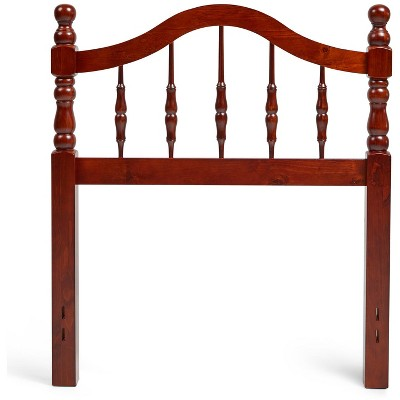 Glenwillow Home Victoria Style Wood Headboard in Cherry, Full/Queen Size