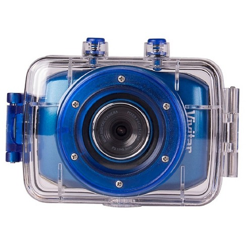 Vivitar Action Camera Blue 720p HD - image 1 of 4