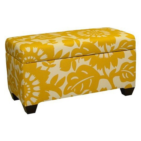 Gerber Storage Ottoman Bench Sungold - Skyline Furniture® - image 1 of 1