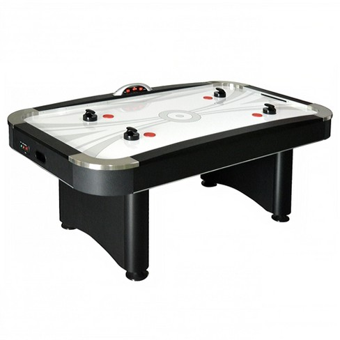 Hathaway Top Shelf 7 Air Hockey Table With Led Electronic Scoring