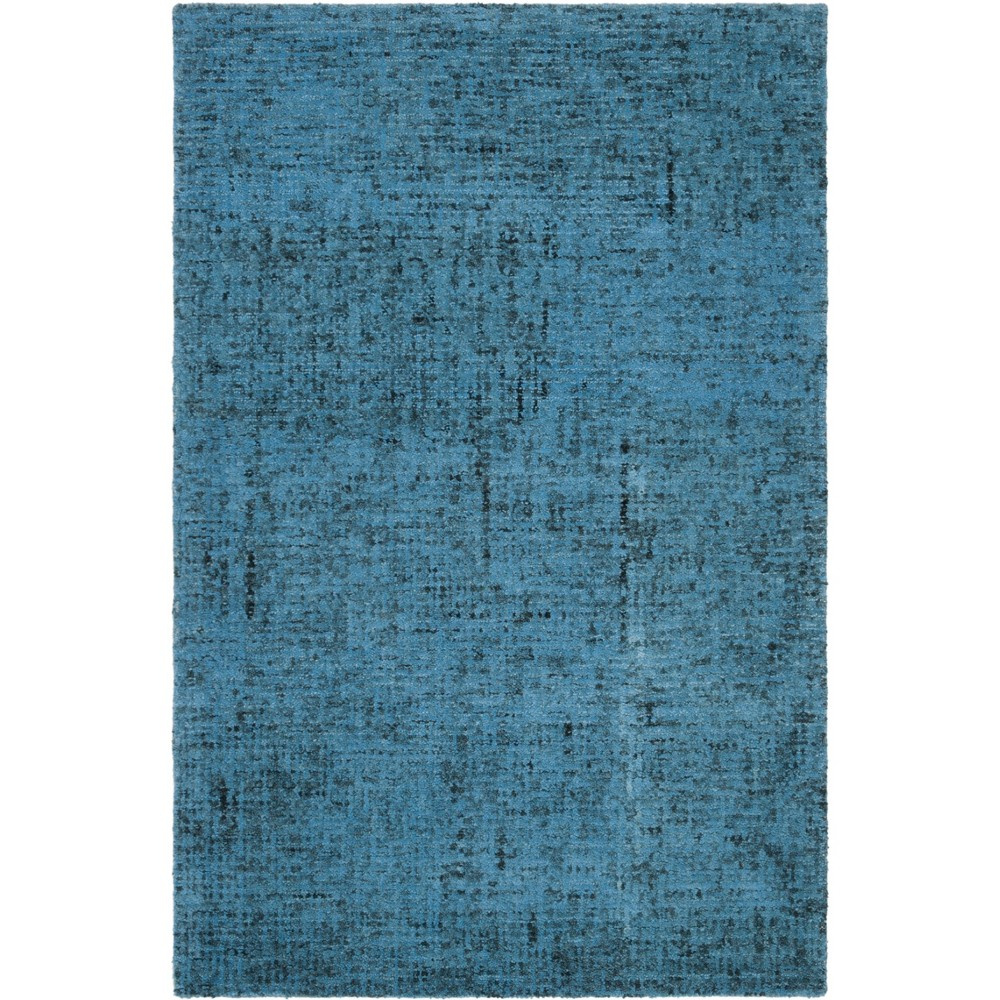 4'X6' Crosshatch Tufted Area Rug Blue - Safavieh, Multicolored