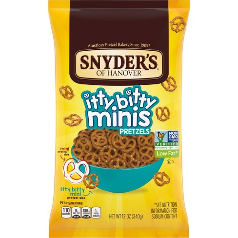 Snyder's Of Hanover Itty Bitty Minis - 12oz - image 1 of 4