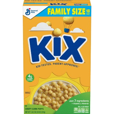 General Mills Kix Cereal - 18oz