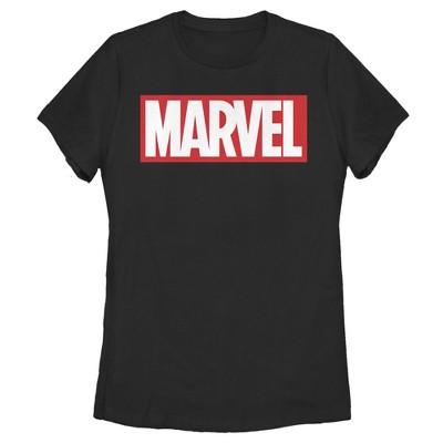 Women's Marvel Classic Bold Logo T-Shirt