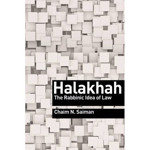 Halakhah - by  Chaim N Saiman (Hardcover) - image 1 of 1