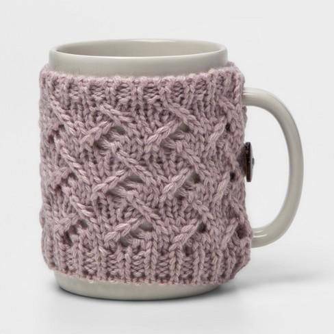 9.9oz Stoneware Sweater Mug - Threshold™ - image 1 of 1