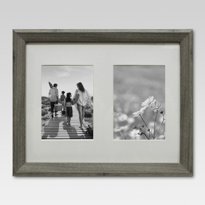 Multiple Image Frame 5X7 Gray - Threshold™