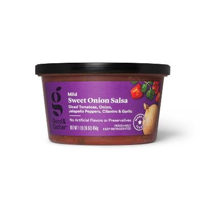 Sweet Onion Salsa - Mild Heat - 16oz - Good & Gather™