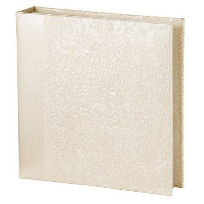 Embossed Gardenia Photo Album - 200 Pocket