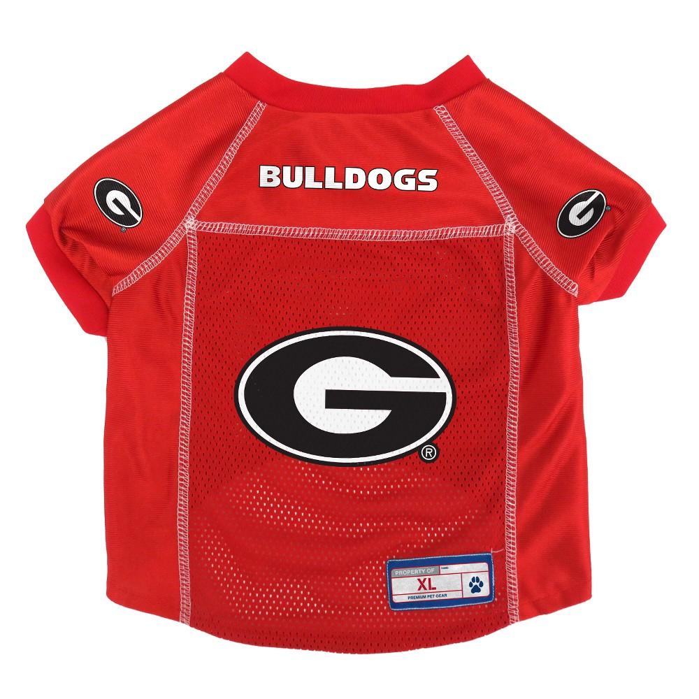 Georgia Bulldogs Little Earth Pet Football Jersey - XS, Multicolored
