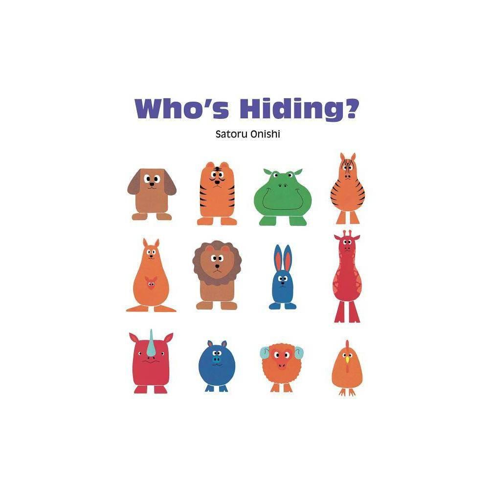 Who S Hiding Gecko Press Titles By Satoru Onishi Hardcover