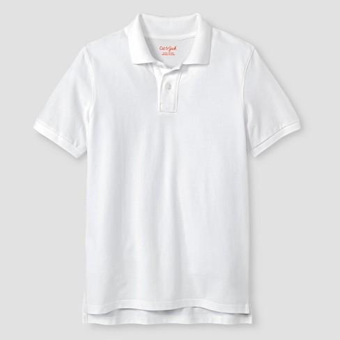 Boys  Pique Uniform Polo Shirt - Cat   Jack™   Target 344ec3c59796