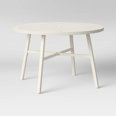 Fairmont Round 4 Person Patio Dining Table - Threshold™