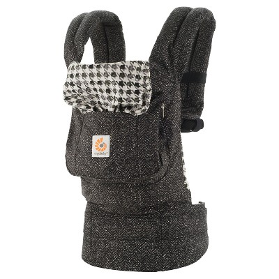 Ergobaby Original Ergonomic Multi-Position Twill Baby Carrier - Black